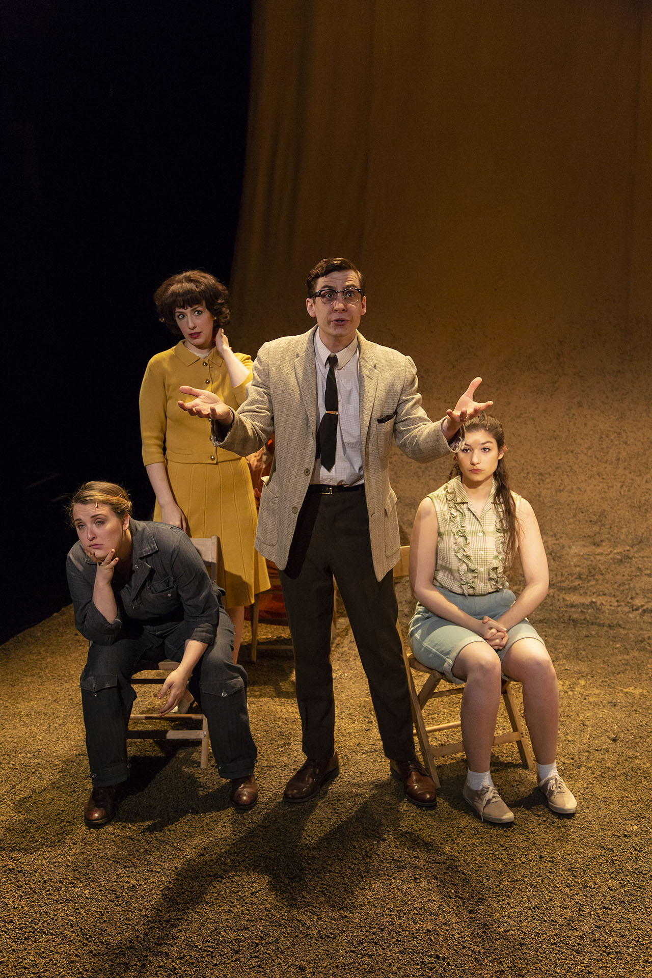 TENT REVIVAL by Majkin Holmquist ('18), directed by Rory Pelsue ('18), Carlotta Festival of New Plays, Yale School of Drama, 2018. Photo by T. Charles Erickson.