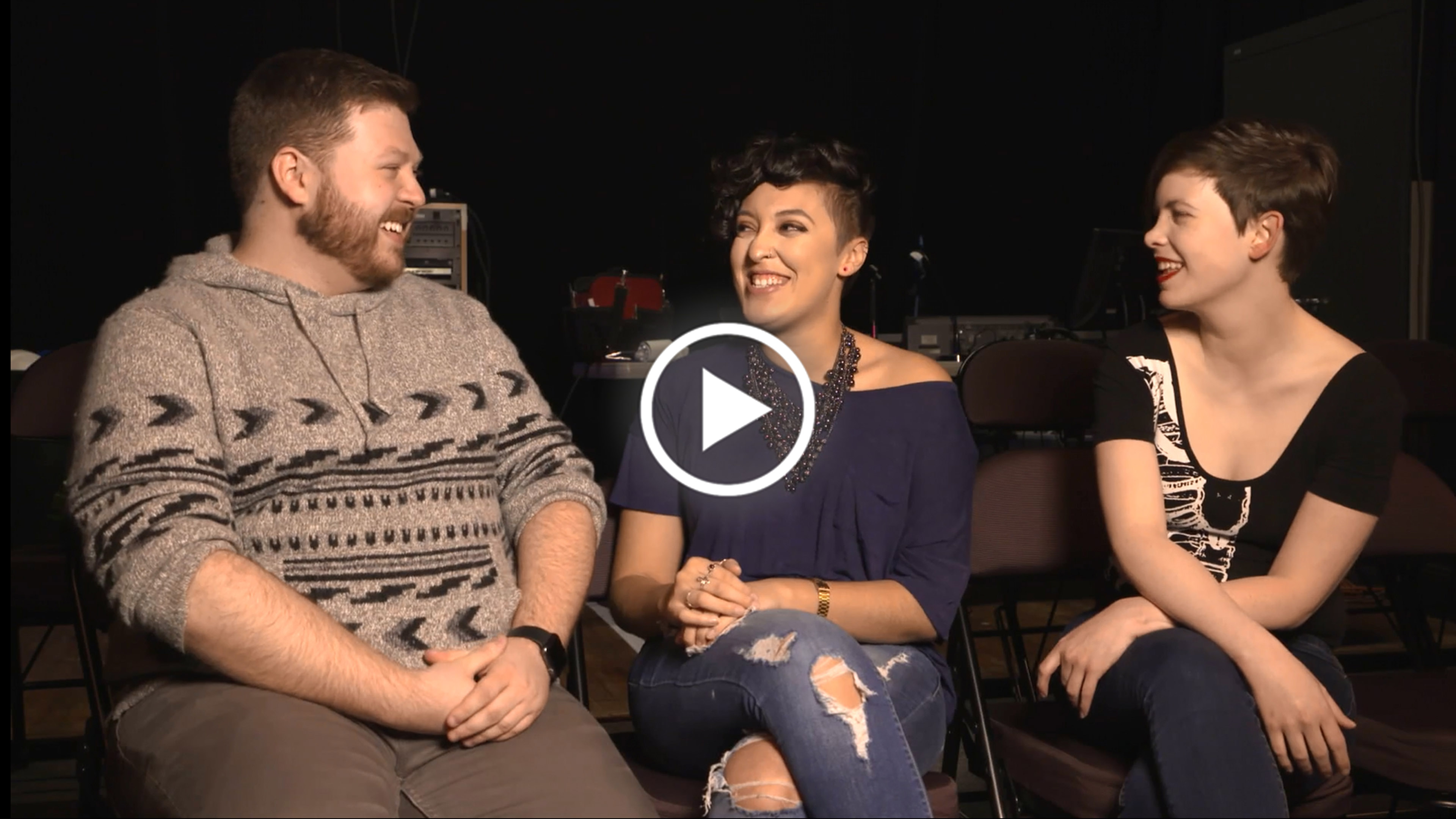 "STAGE MANAGEMENT A John Carlin ('19), Bianca Hooi ('18), and Caitlin O'Rourke ('18) Part 1 ""You are a stage manager, and that is an artist."""