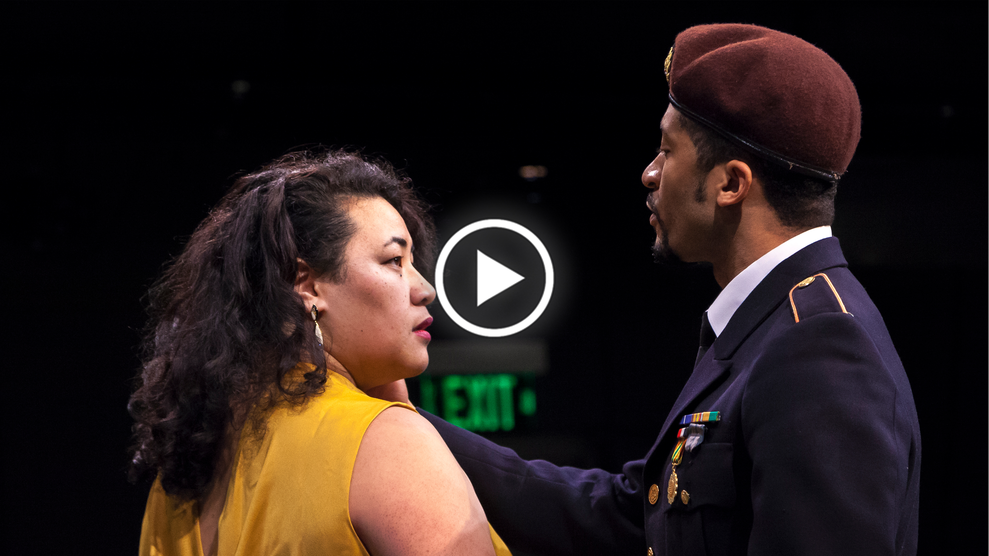 """DIRECTING B Jecamiah M. Ybañez ('19), Shadi Ghaheri ('18), and Em Weinstein ('19) Part 2 """"The people in the room with you are diverse people from all over the world."""""""