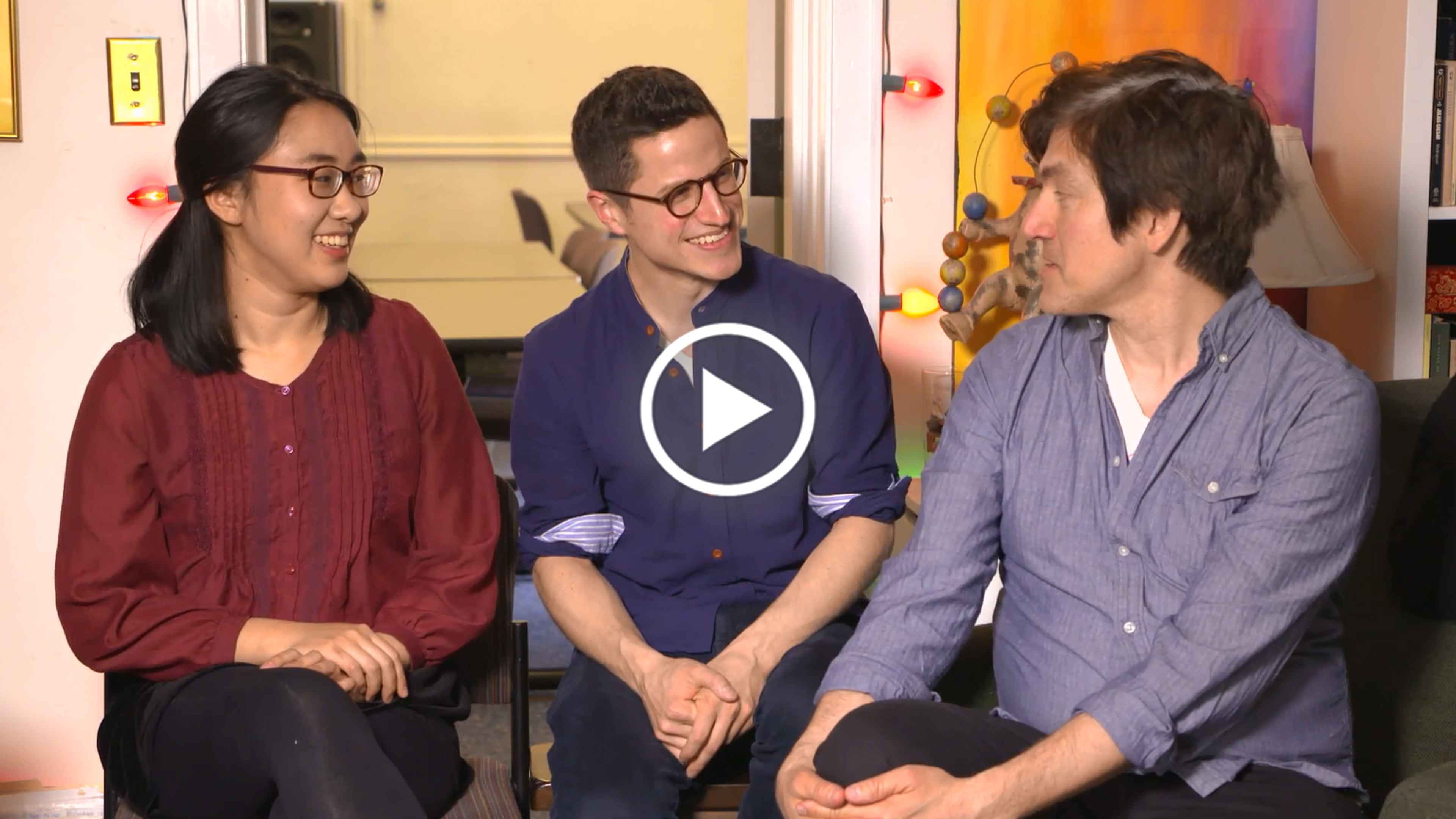 "SOUND DESIGN A Megumi Katayama ('19), Michael Costagliola ('18), and Frederick Kennedy ('18) Part 1 ""It's a very safe environment in which to learn to be a better collaborator."""