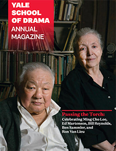 Yale School of Drama Annual Magazine Cover