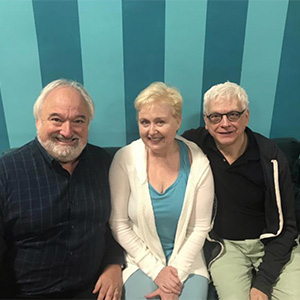 Kim Powers, Roy Steinberg, Sally Mayes