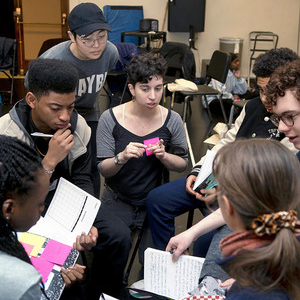 School of Drama Students Inspire New Voices in Theater
