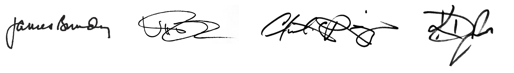 Deans Signatures
