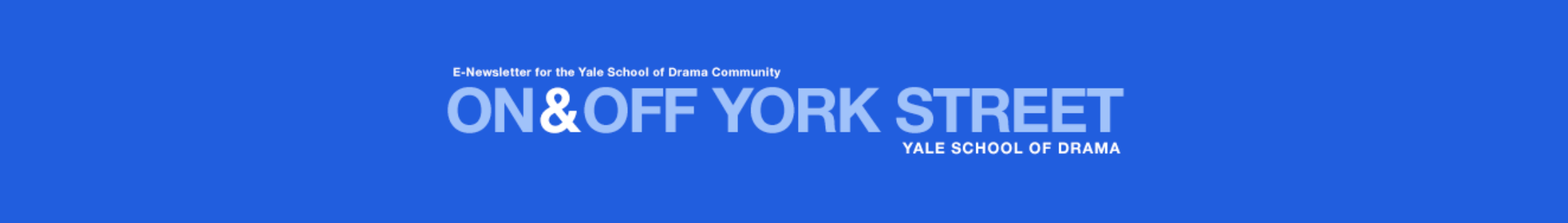 On & Off York Street banner