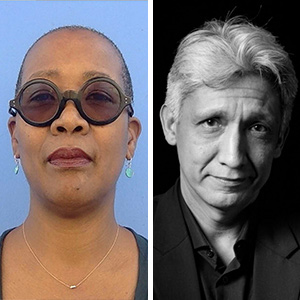 Toni Leslie-James and Riccardo Hernandez